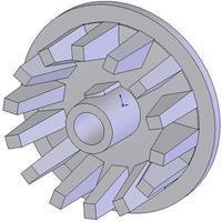 Kladka litinová-rozteč 40 mm (28)