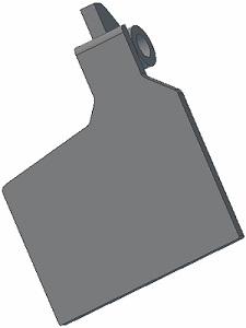 Palec radlice 001.00641 L Grimme
