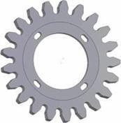 Kladka litinová-21 zubů rozteč 40mm (73)