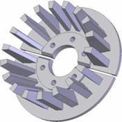 Kladka litinová-rozteč 40 mm (55)