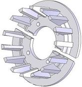 Kladka litinová-rozteč 40 mm (52)