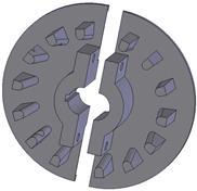Kladka litinová-rozteč 50 mm (39)