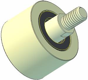 Plastová kladka AVR 4302.15.80
