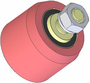 Kladka ocelová AVR 3102.15.20