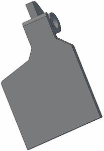 Palec radlice 001.00250 L Grimme