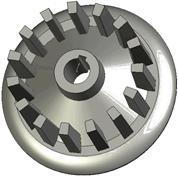 Kladka litinová-rozteč 40 mm (50)