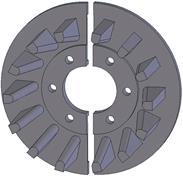 Kladka litinová-rozteč 50 mm (33)